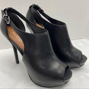ALDO platform open toed stiletto sandal size 40/9